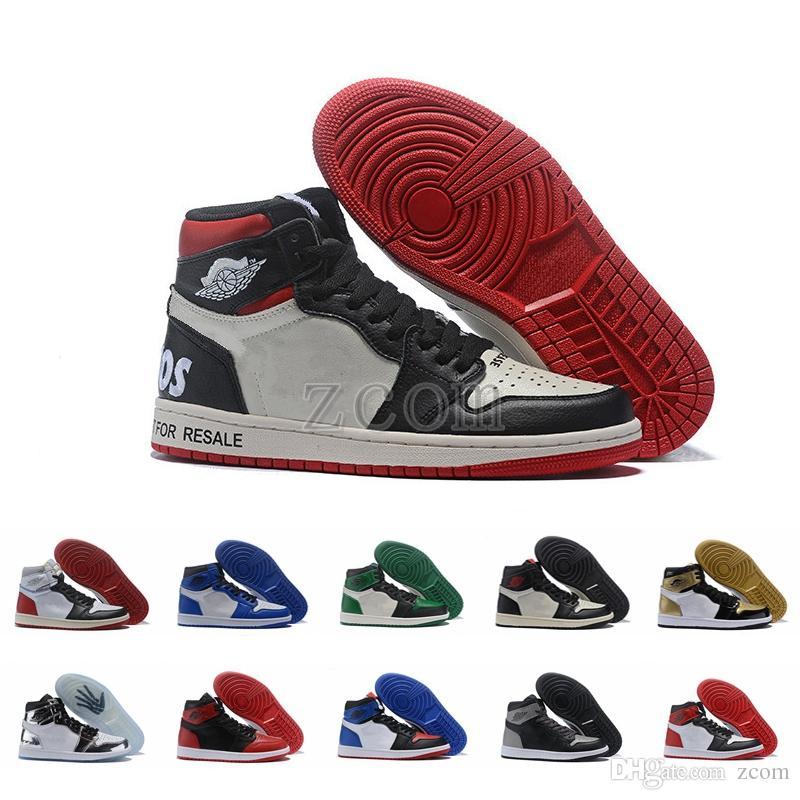 a06fe107d40ce Compre Nike Air Jordan Jumpman 1 No Para Reventa Negro Rojo Pase La  Antorcha No Ls Naranja Zapatillas De Baloncesto Para Hombre Jordan 1s  Zapatillas A ...