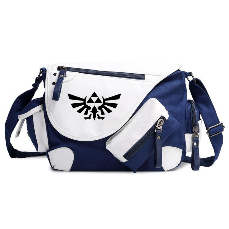 ab64a2b663 Legend Of Zelda Handbag Shoulder Men Casual Teenagers School Book Students  Bags Cosplay Shoulder Messenger Bag Gift Wholesale Purses Designer Handbags  On ...