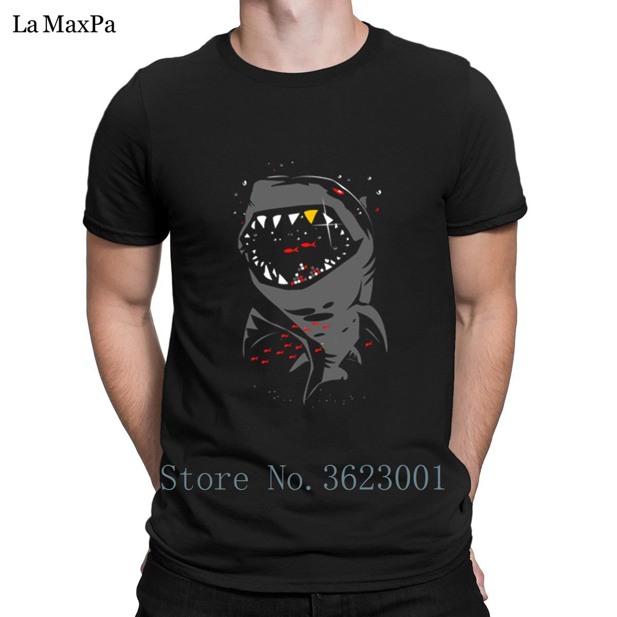 c1342327 Breathable T Shirt For Men Limited Edition Shark With Pixelated Teeth  Original Tee Shirt Funky Men T Shirt Cotton Simple Graphic Tee Shirts Mens  T Shirts ...