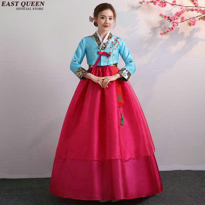 Capítulo 1 - Comemorações Korean-hanbok-wedding-dress-cosplay-performance