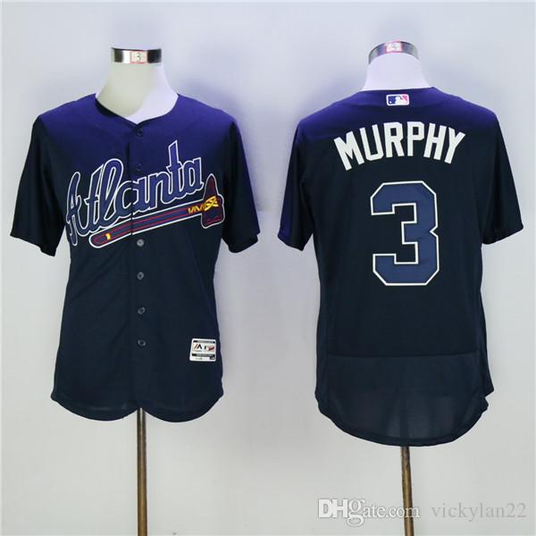 ... jersey white 2de39 60cba reduced best service 716c9 3998a 2018 atlanta  braves dale murphy embroidery cool base flex base ball ... 3ea809c5c