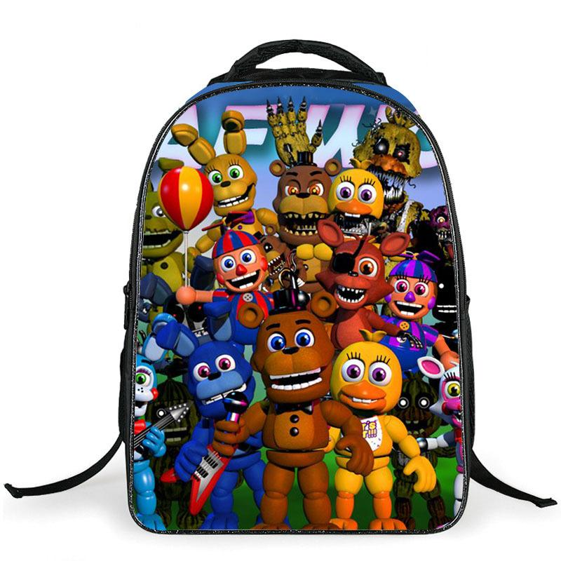 570eb13dce 16 Inch Cartoon Five Nights At Freddys School Bags Backpack Children  Schoolbags For Teenagers Boys Girls School Book Bag Kids Toddler Backpacks  Cheap ...