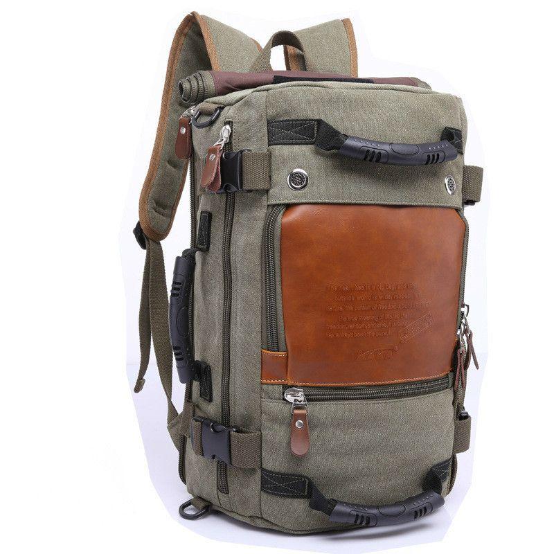 92b9dd51b2c8 Brand Stylish Large Travel Capacity Backpack Male Luggage Shoulder Bag  Computer Backpacking Men Functional Versatile Bags Girls Backpacks  Drawstring ...