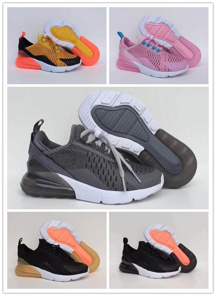79312d2cb6e7b Enfants Garçons Gris Rouge Nike Racer Fille Filles Air Chaussures Max Noir  Runner Bébés 27c Blanc ...