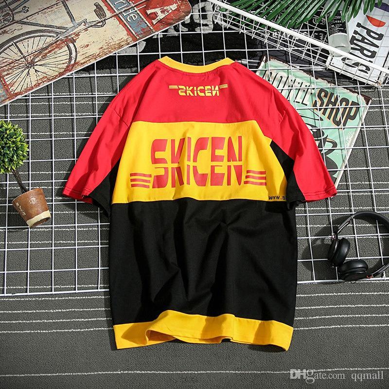 الرجال تي شيرت تي شيرت الصيف نمط رجل t قميص الشارع الشهير الهيب هوب مريح البيسبول قميص الرجال جودة عالية تي شيرت