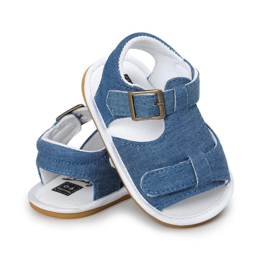 9f52701ebb648 Acheter Mooistar2   4005 Bébé Garçon Sandales Chaussures Casual Chaussures  Sneaker Anti Slip Semelle Souple Tout Petit De  37.08 Du Jamani3