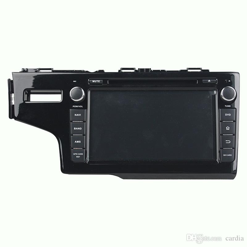 Car DVD player for Honda Fit 2014 8inch 4GB RAM Octa-core Andriod 8.0 with GPS,Steering Wheel Control,Bluetooth,Radio