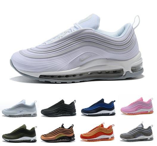 98e35fc4e1 97 UL 17 PRM Running Shoes 97s Ultra Og White Black Metallic Gold ...