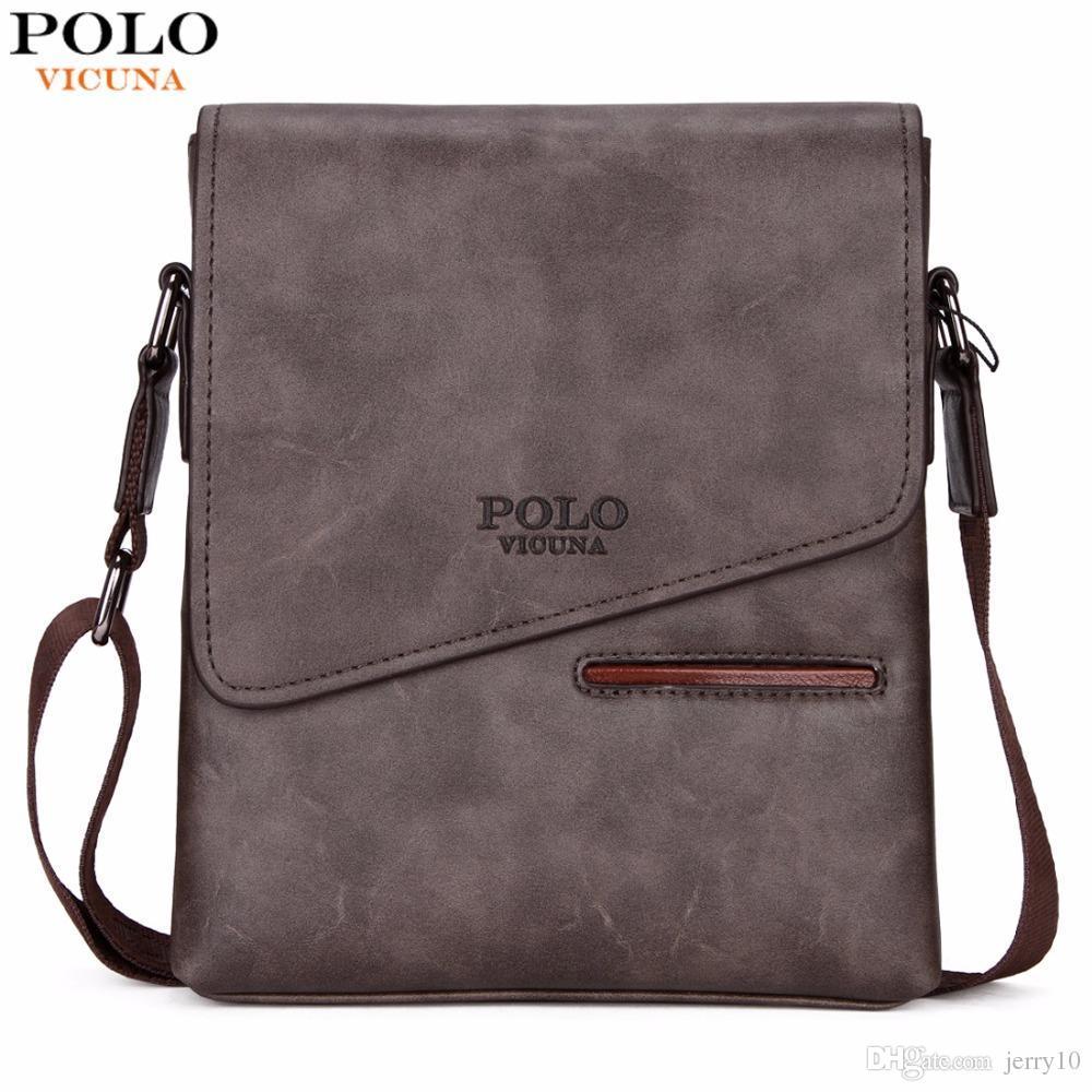 12ff35bf4b6f Vintage Frosted Leather Messenger Bag For Man Brand Business Man Bag ...