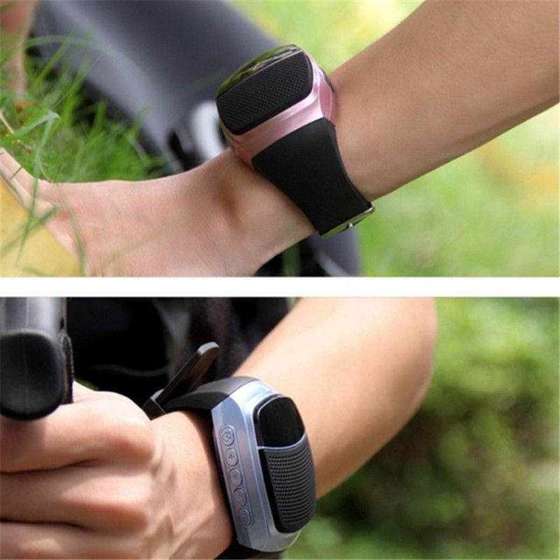 B90 Smart Watch динамик портативный громкой связи TF карта FM-радио беспроводной Спорт Bluetooth колонки браслет