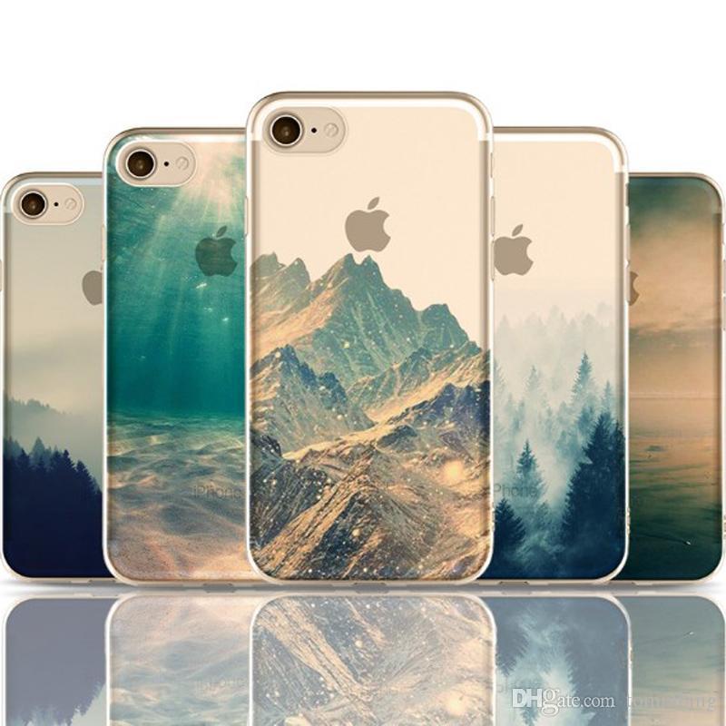 coque iphone 8 mountain