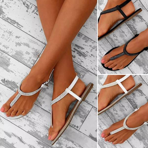 945c463de New Fashion Women Casual Beach Flat Flip Flop Sandals Summer Sexy Thong  Sandals Flats Shoes Canada 2019 From Motivate