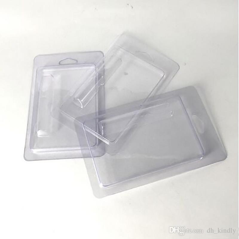Cancella Clam Shell pacchetto di bolla 0,5 ml Vape cartucce Blister Packaging chiaro Clam Shell chiaro Clam Shell di plastica
