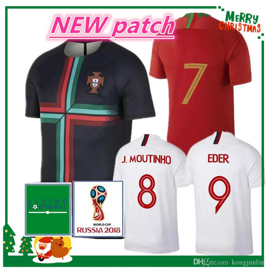 2019 2018 CR7 World Cup Jersey NANI Football Shirt 18 19 NANI MIGUEL SILVA  MOUTINHO Soccer Jersey White Man And Women T Shirt From Kongjunlin 5d742068a