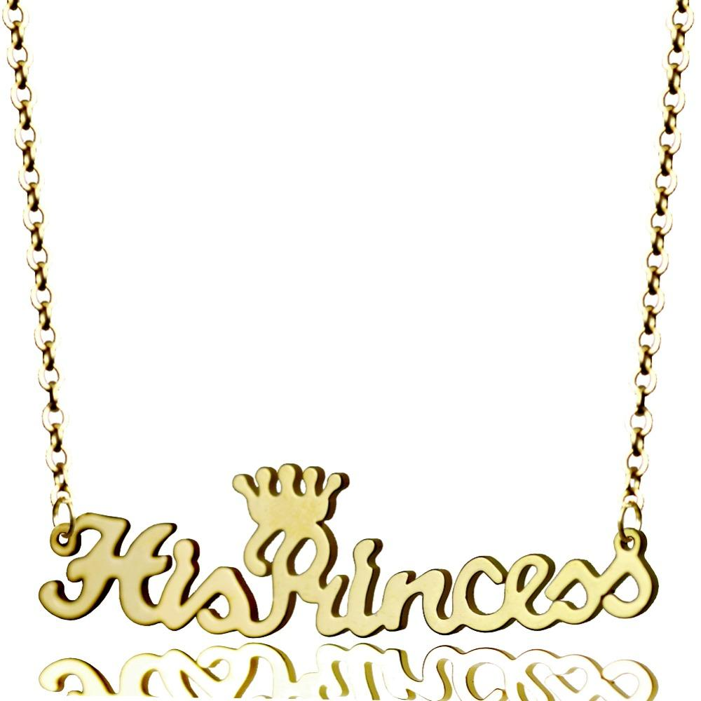 f18ab5c582151 Personalized Name Necklace Custom Princess Crown Name Plate Necklace Daily  Jewelry Gift for Her Valentines Gift Mothers Day