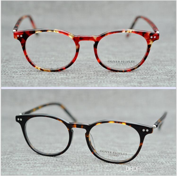 cce8e3cb86 Compre Gafas De Marca Marco Clásico De Estilo Retro Vintage Gafas De Vista  OLIVER PEOPLES OV 213 Gregory Peck Gafas De Vista Para Mujer Y Hombre A  $52.8 Del ...