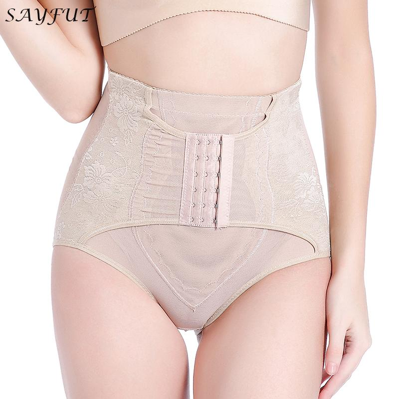 792538979c SAYFUT Body Shaper High Waist Tummy Control Butt Lifter Panty ...