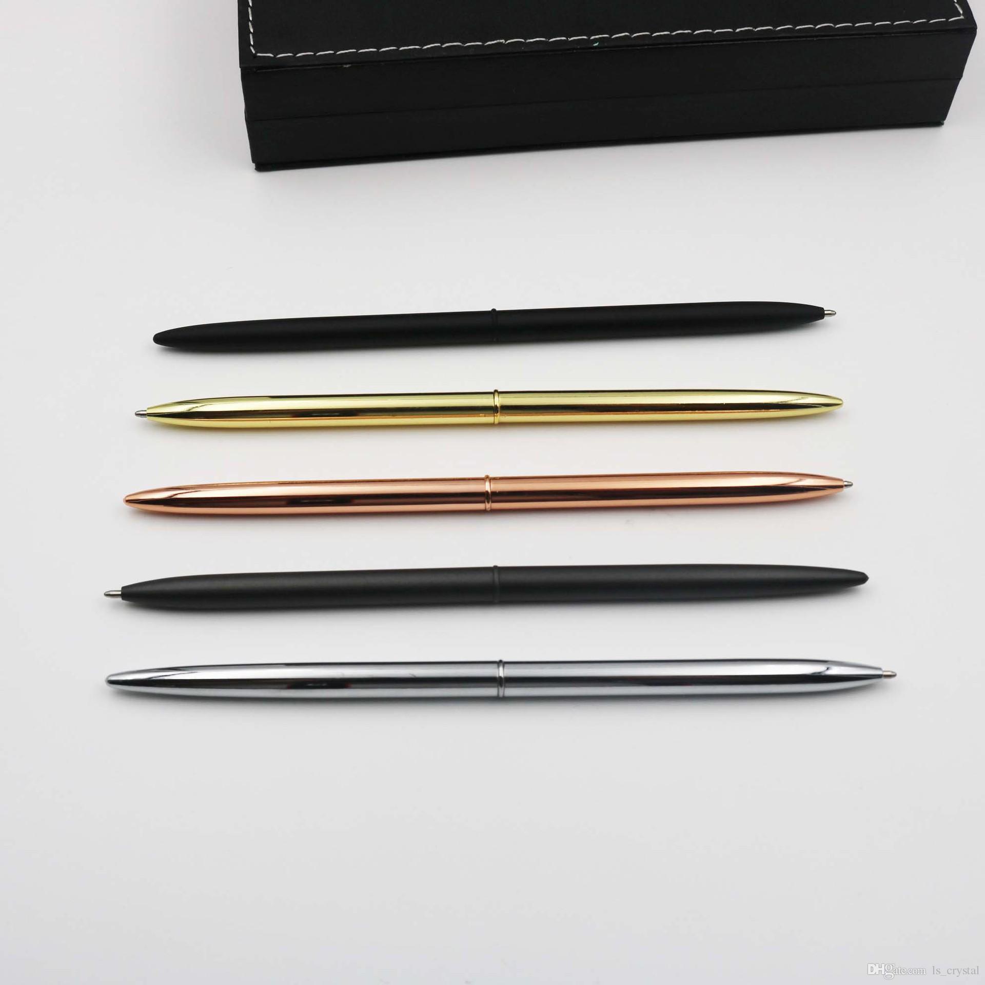 معدن قلم حبر أسود حبر سليم الكرة القلم فندق بنك القلم للأعمال الكتابة مكتب اللوازم المدرسية WJ020
