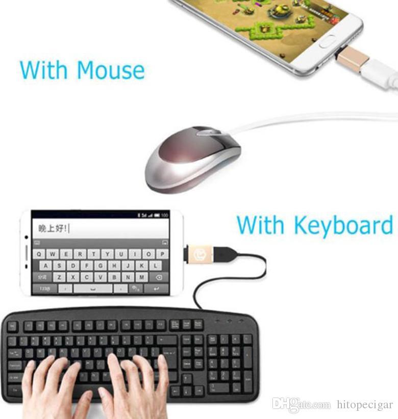 Connettore USB Micro USB da Tipo a C da USB a Micro USB 3.0 MacBook Oneplus / Xiaomi Mi4c / 12
