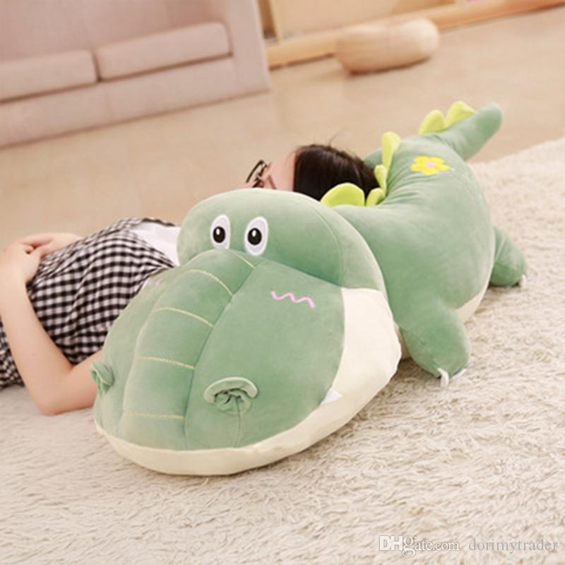 2019 Cuddly Cartoon Hippo Plush Toy Big Stuffed Animals Hippos