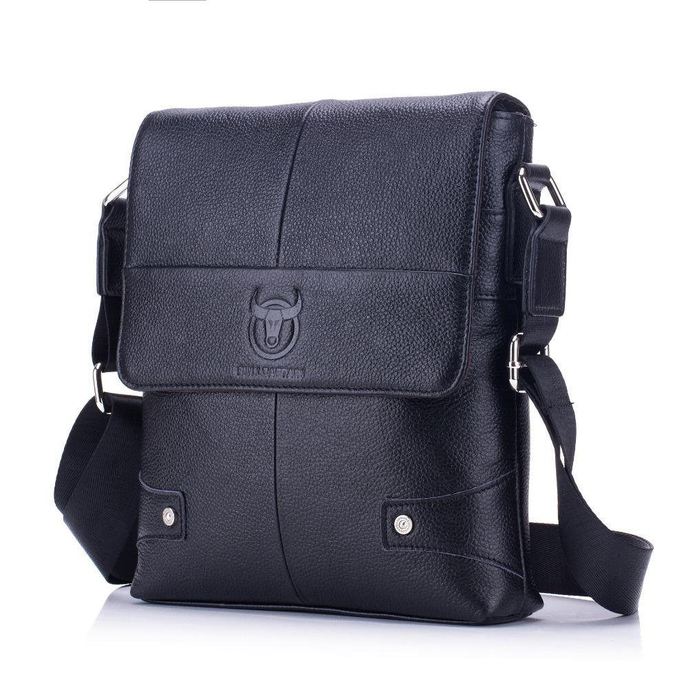 976f40082143 Casual Style Men S Genuine Leather Crossbody Handbag Shoulder Sling Bag  Briefcase Portfolio Bag For Male Man BC033 Purses On Sale Hobo Purses From  Allinbag