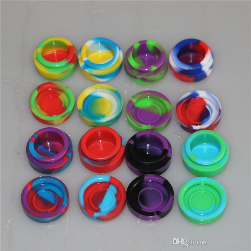 Vente en gros - stockage réutilisable boîte de cire de silicone Contenants de silicone contenants de silicium pour contenants de cire de silicium dab conteneurs de cire dab