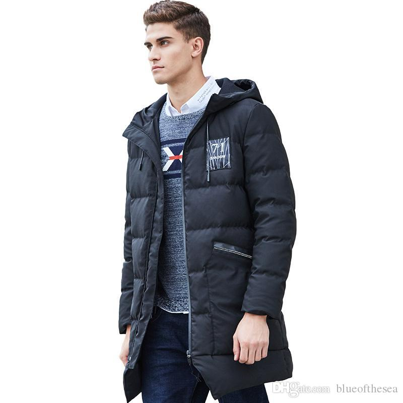 659d416087f Long Thicken Winter Down Jacket Men Brand Clothing Warm Duck Down Coat Male  Top Quality Men Down Parkas Online with  175.5 Piece on Blueofthesea s  Store ...