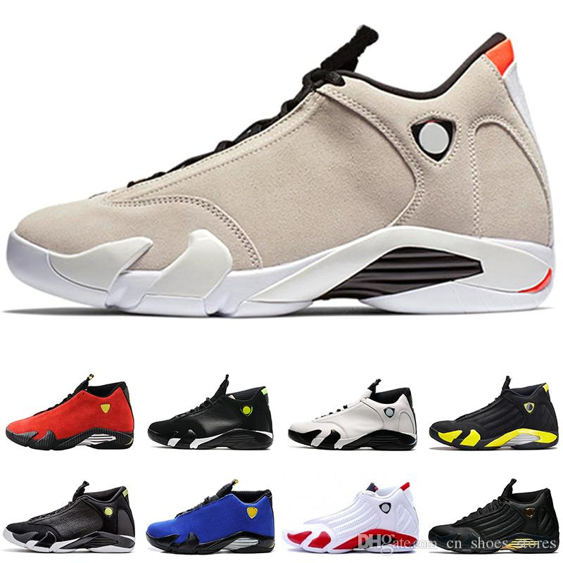 3a6e0b814748 Classical 14 XIV Vermelho Basketball Shoes Men Fasion Purple Last Shot Black  Fusion Varsity Red 14s XIV Playoffs Sneakers Eur Size 41 47 Shoes On Sale  Cheap ...