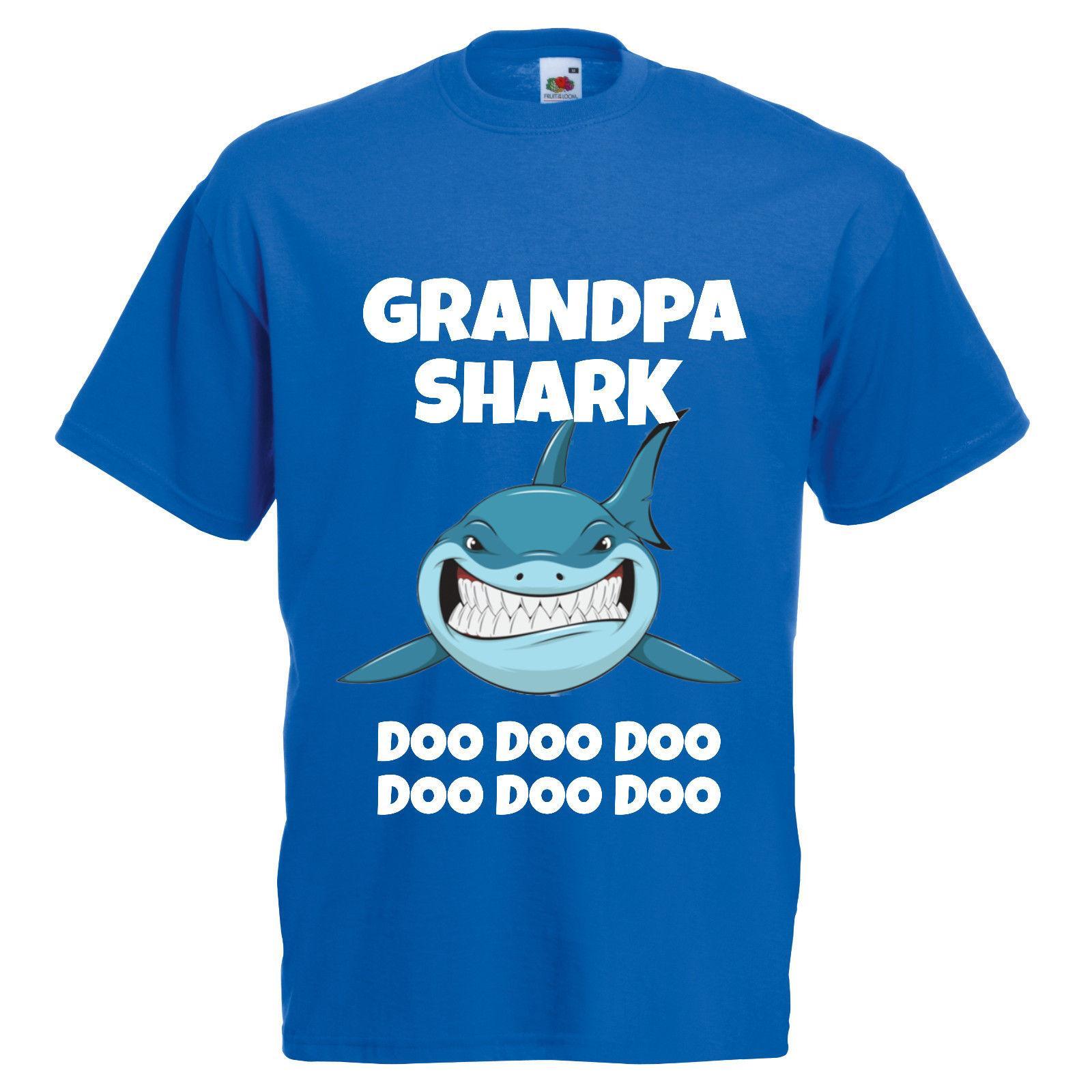 4ffe350b GRANDPA SHARK BABY SHARK T SHIRT DOO DOO DOO VIRAL SONG GIFT T Shirts  Design Designer T Shirts From Young_ten, $12.96| DHgate.Com