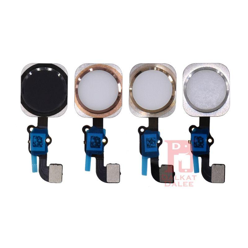 IPhone 5 5 S 5C SE 6 6 artı 6 S ARTı 7 8 Artı Ana Düğme Flex Kablo Siyah Beyaz Altın Gül Meclisi