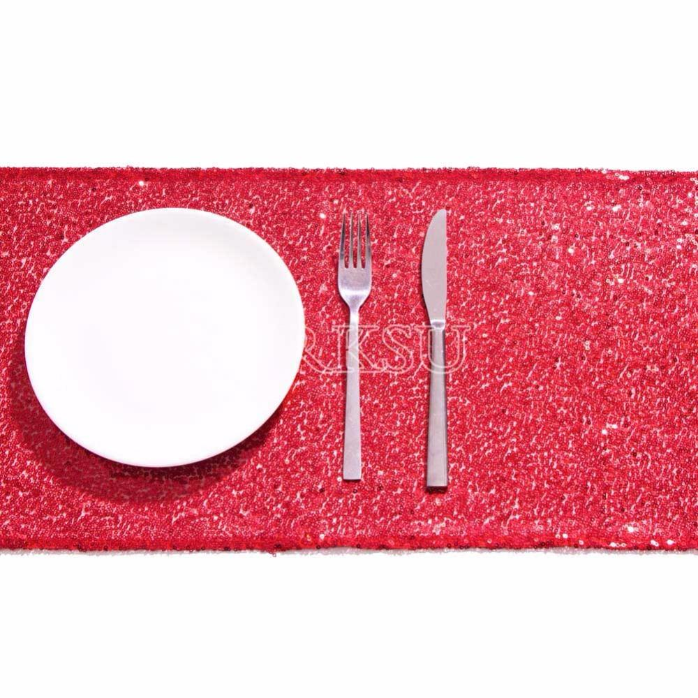 Red Sequin Table Runner Sparking Glitter DIY For Wedding/Christmas/Baby  Shower Halloween Table Runners Handmade Table Runners From Georgely,  $32.87| DHgate.