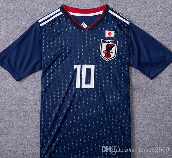 fe73235ec 2018 World Cup Japan Soccer Jersey Top Thai Quality KAGAWA OKAZAKI ...