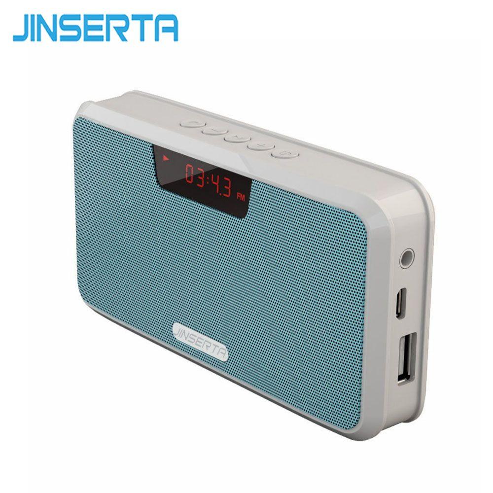 Acquista Altoparlante Portatile JINSERTA Altoparlante Stereo Bluetooth Senza  Fili Power Bank Vivavoce TF USB Player MP3 Ricevitore Radio FM A  30.06 Dal  ... 4367d75029dd