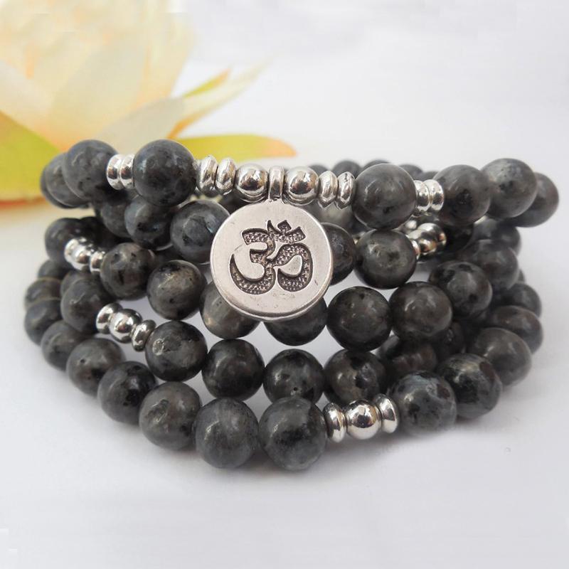 2019 Mens Mala Beads Necklace 108 Prayer Beads Tibetan Energy Mala