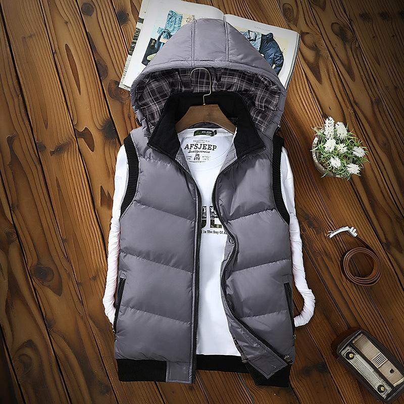 Männer Unten Jacke Winter Dicke Warme Jugend Mit Kapuze Casual Weiße Ente Unten Mantel Männer Mantel Oberbekleidung Moderater Preis Mutter & Kinder
