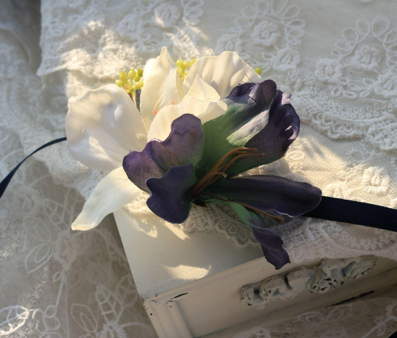 Hot Sale Bridesmaid Wedding Wrist Flower Corsage Artificial Flower