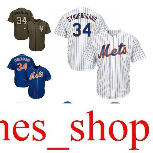 2019 2019 Hot Sale Men Women Youth Mets Jerseys  34 Player White Blue Green  Salute To Service Players Weekend All Star From James shop a88e5b0028