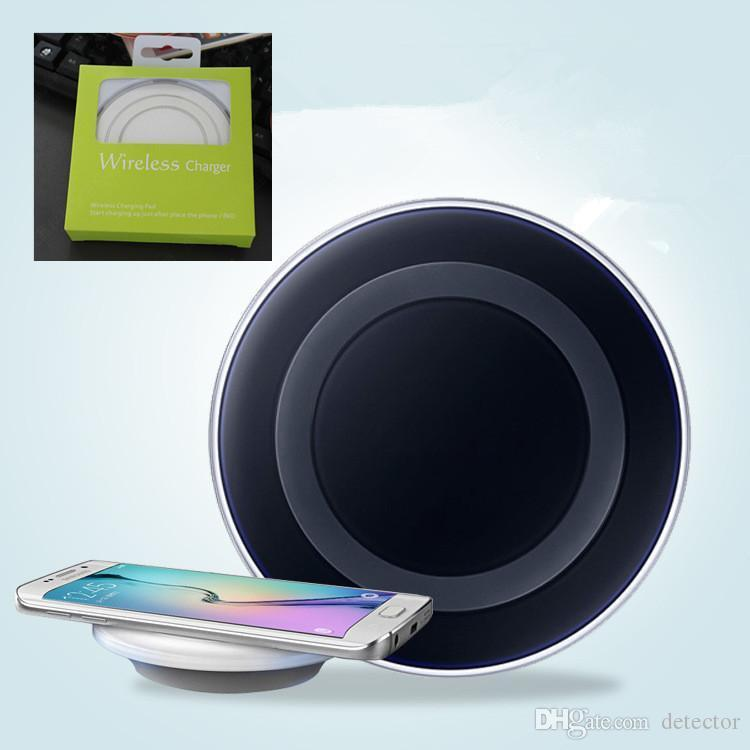 2018 Qi Fast Wireless Charger Pad di ricarica Samsung Galaxy S6 / S6 Edge Ship in 1 giorno