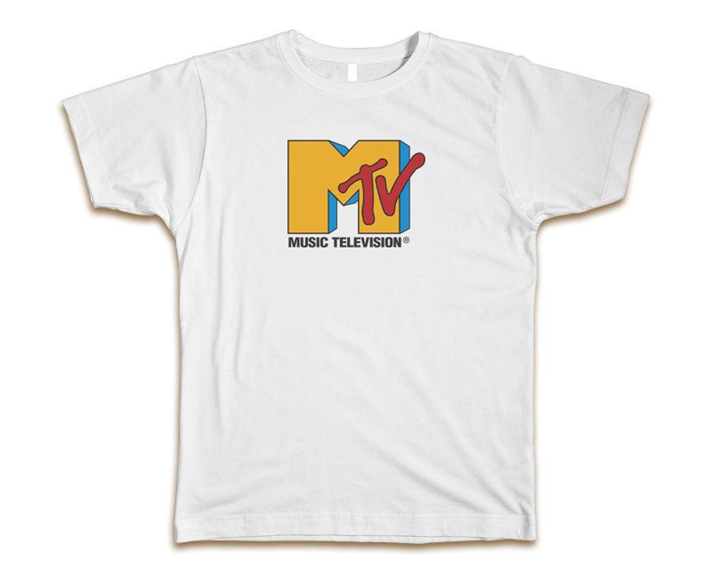 Mtv New Da A11 Custom 01 Dal S Acquista T Shirt White Uomo Tee 3xl Yfy76gb