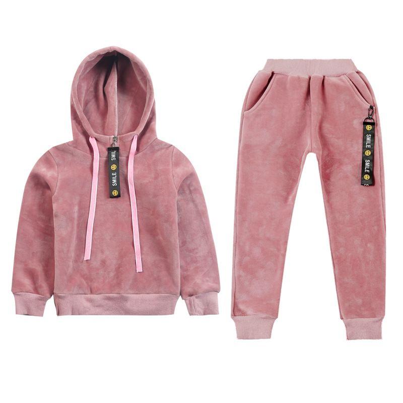 1c251c061565 2017 Korean Version New Children s Clothing Winter Baby Girl Sport ...