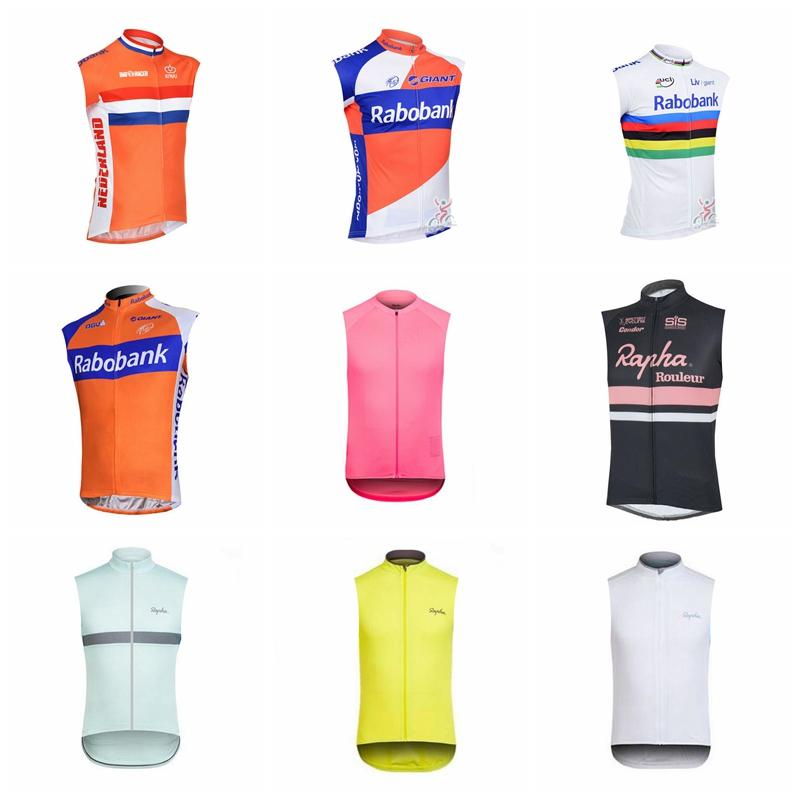 RABOBANK RAPHA Team Cycling Sleeveless Jersey Vest Bicycling Wear 2018  Summer Wear Resistant Bicycle Jersey 92647X RABOBANK RAPHA Cycling Jersey  Bike Online ... 16f4387de