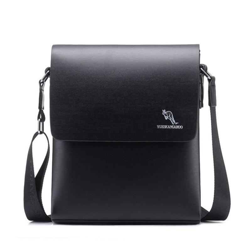 YUESKANGAROO Hot Sale Men Bag PU Leather Solid Men Messenger Bag Casual  Business Crossbody Fashion Mens CrossBody HA019 Leather Handbag Branded  Handbags ... 6795fd9cba813