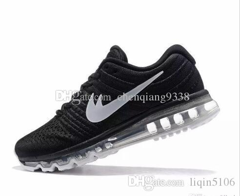 f879813d2a67 Running Shoes Men Women Air Cushion 2017 Boots Cheap Sneakers High ...