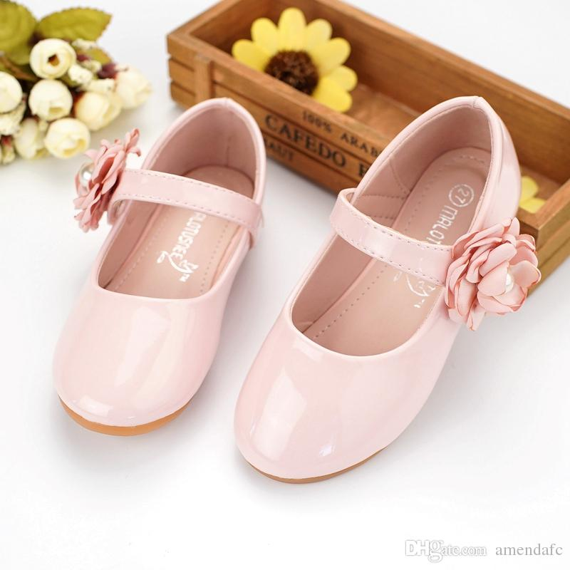 c0985a42b3180 children shoes girls princess party kids girls autumn leather wedding shoes  princess shoes for girls kids