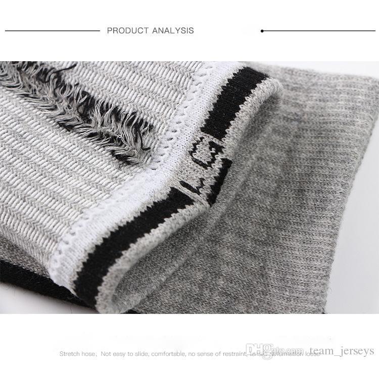 EU USA Professional Elite Basketball Socks Long Knee Athletic Sport Socks Men Fashion Compression Thermal Winter Socks Cheaper Bulk Price