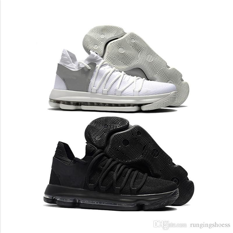 buy popular 374db 2eed0 Nuevo Color 2018 Zoom KD 10 Kevin Durant Blinders PE Hombres Hombres  Mujeres Baloncesto Running Diseñador Zapatos De Marca De Lujo Entrenadores  Zapatillas ...