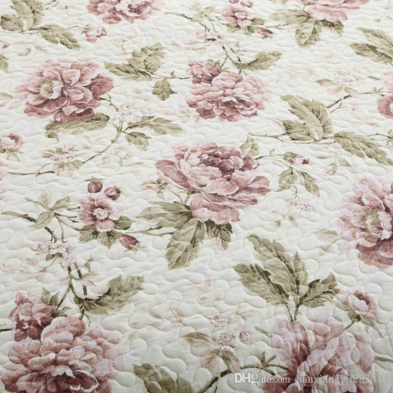 Hanxiangyiren новое прибытие 100% хлопок Пейсли рисунком восточные стеганые покрывала / бросает кровать для весна лето осень горячий продавать