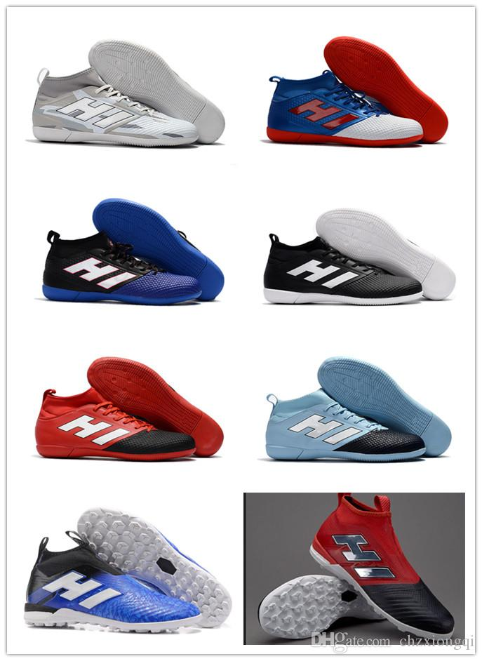 New top quality High Ankle Football Boots Predator 18 FG Laceless Soccer Cleats Socks Top Outdoor Predator 18.1 Soccer Shoes marketable cheap sale with mastercard cheap websites authentic cheap online Ed7DL5e