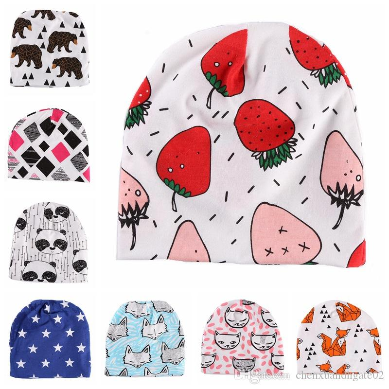 9756bfe76cd 2019 2018 Fashion Newborn Baby Children Hat Cap For Girls Boy Baby Born  Care Infant Toddler Hats Bonnet Skullies Beanies For Kids Boys From  Chenxuandhgate02 ...