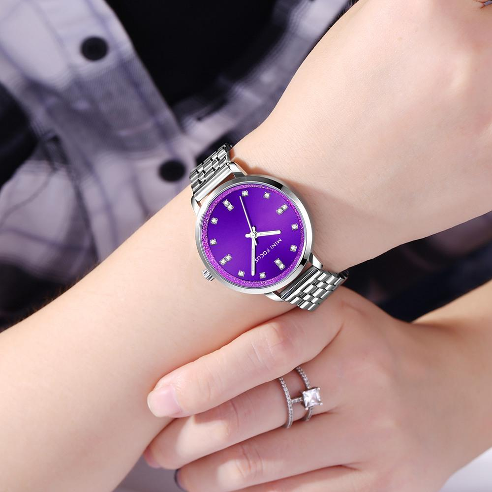 MINI FOCUS Ladies 2018 Top Fashion Stainless Steel Quartz Watch Famous  Brand Women Watches Montre Femme Clock Relogio Feminino Buying Watches  Online Buy A ... 05ca8309bf